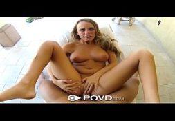 Filmes de sexo com a linda namorada loira